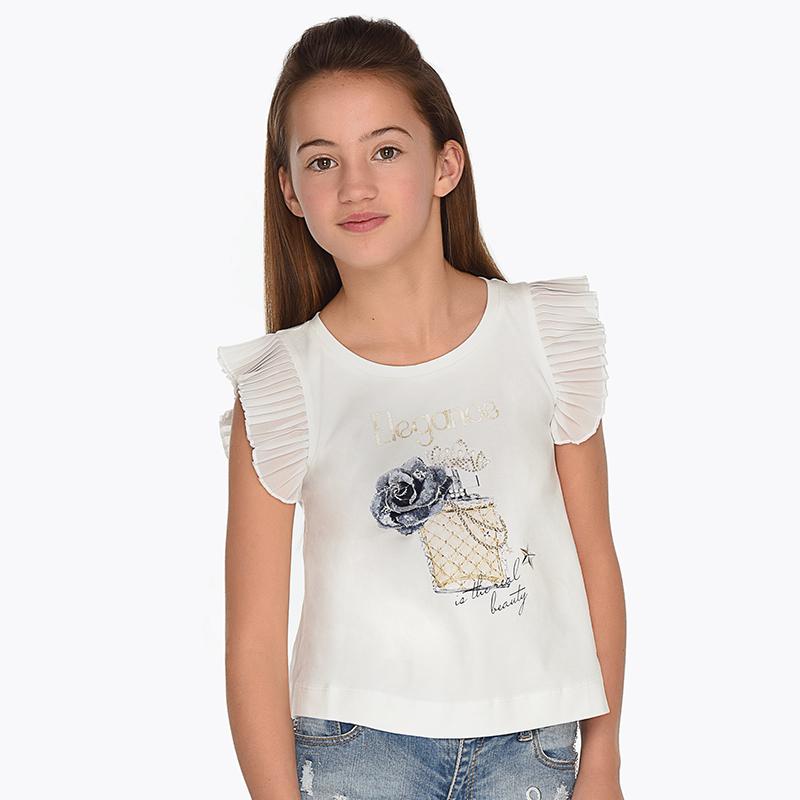 6d1e70d28cb1 Camiseta tirantes perfume niña Crudo - Mayoral