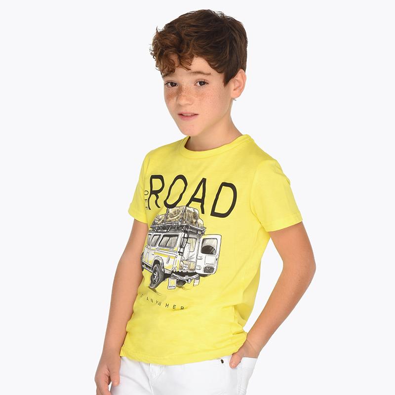 1340d36c1 Camiseta manga corta ROAD niño