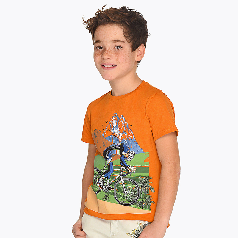 73626af40 Camiseta manga corta ciclista niño