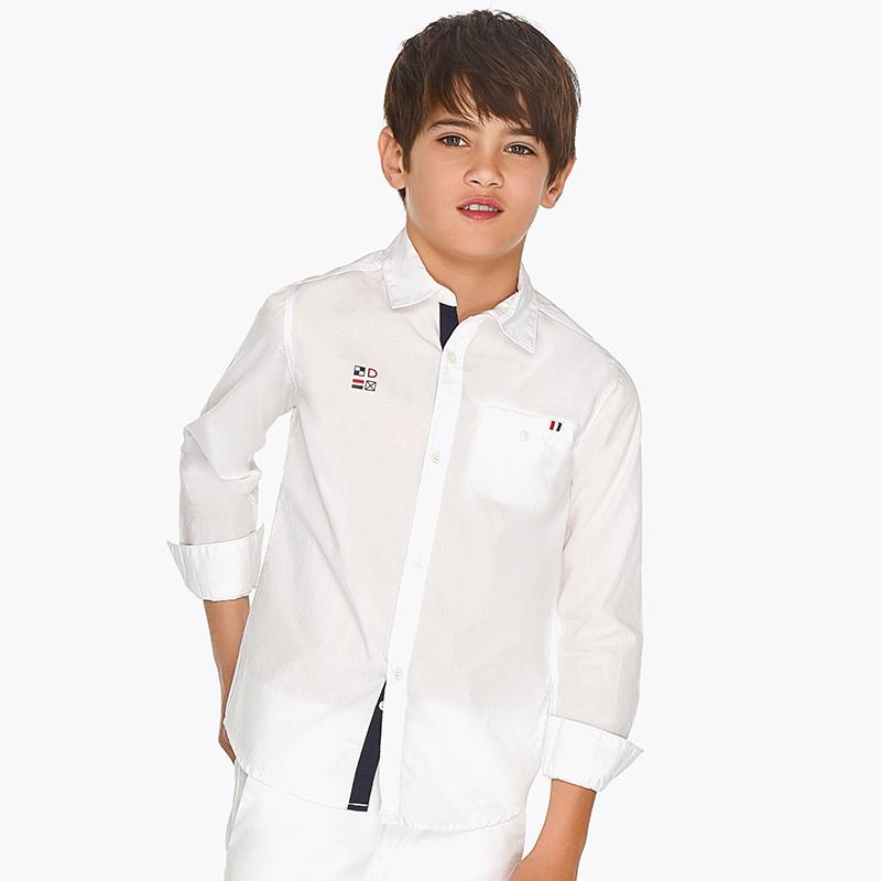 Camisa manga larga vestir niño 0f810bd7a0a1d