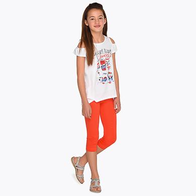 535d49ba71 Set leggings si tricou umeri goi fata