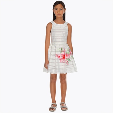 0f335bd964 Floral dress for girl