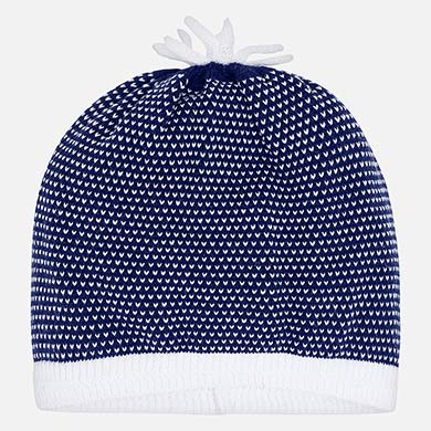 ea87335766c Knitted hat for newborn boy
