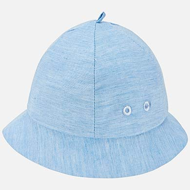 ff9a2d385ad Reversible striped hat for newborn boy