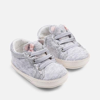 afcad3366ee Zapatillas deportivas orejitas bebé recién nacida
