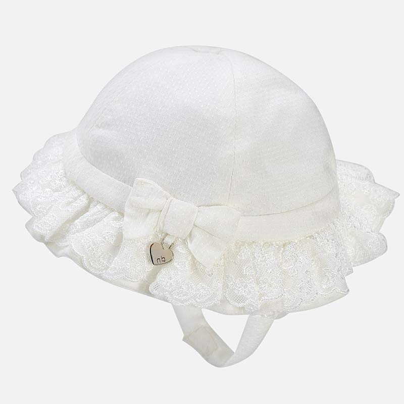 bde81f361b70 Καπέλο αμπιγιέ νεογέννητο Εκρού - Mayoral
