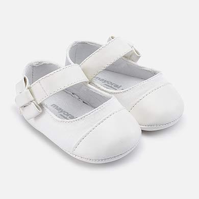 146cc3b9b7937 Metallic toe Mary Jane shoes for newborn girl