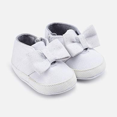 f545fe534cd Παπούτσια αθλητικά φιόγκος νεογέννητο κορίτσι