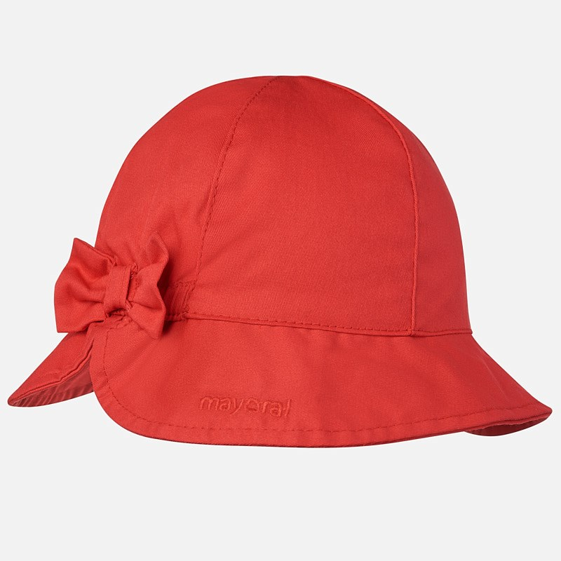 ecdb21b220533 Gorro con lazo bebé niña Rojo - Mayoral
