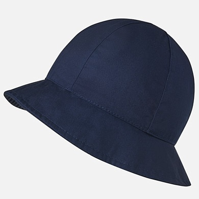 e1a6e7745 Hat with bow for baby girl Navy blue - Mayoral