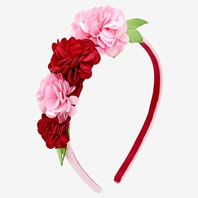 fbf3b532496 Floral hairband for baby girl
