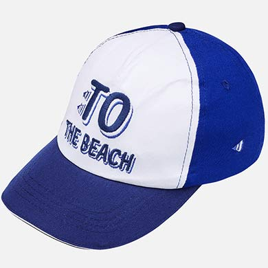Gorra bordada niño Royal Blue - Mayoral e0d62321466