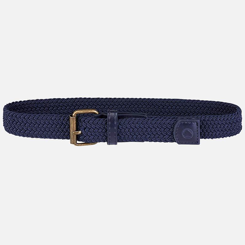 700c41c71 Cinturón trenzado elástico para niño Marino - Mayoral
