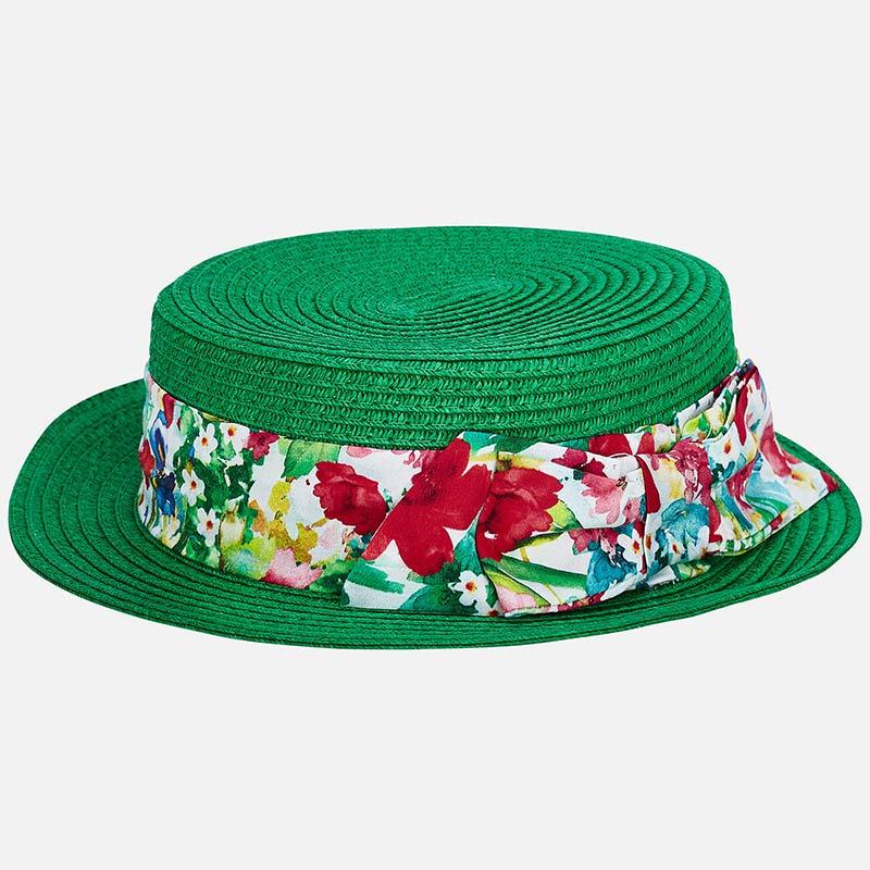a96f8313d0882 Chapéu laço menina Verde - Mayoral