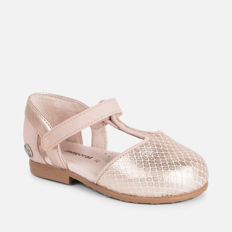 7ed5de27e9fa2 Chaussures semi-ouverte bébé fille Rosé - Mayoral