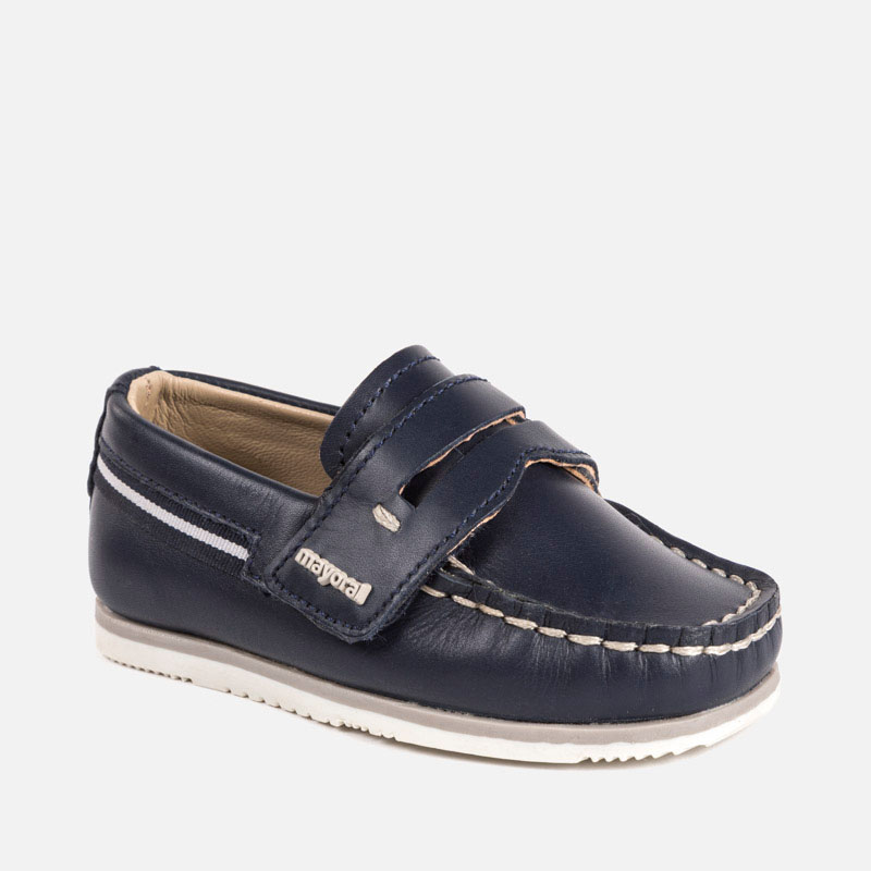 Ναυτικό παπούτσι με βέλκρο αγόρι Ναυτικό μπλε - Mayoral e6ed5806e2e