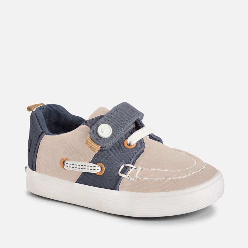 8f1464b7774c Boat shoe for baby boy Sand - Mayoral