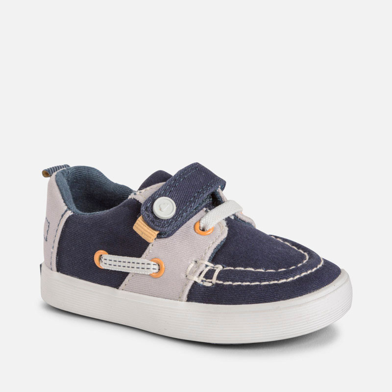 e8fe09e61ded Boat shoe for baby boy Navy blue - Mayoral