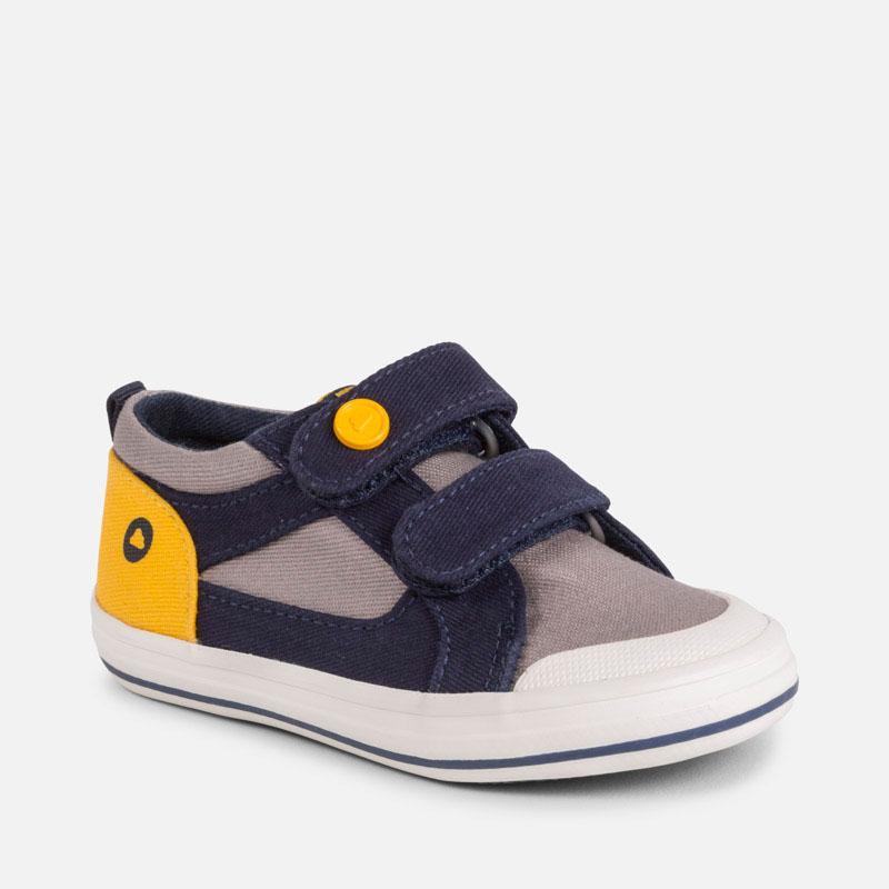 b83592bf97773 Chaussures casual toile bébé garçon Gris - Mayoral