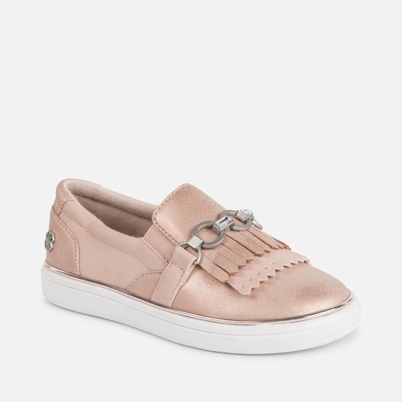 54066788c25 Παπούτσια casual κρόσσια κορίτσι Δέρματος - Mayoral