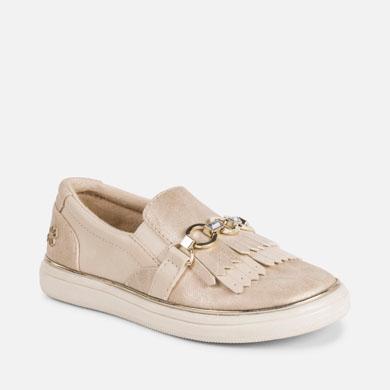 Zapatillas casual flecos niña 405721684df