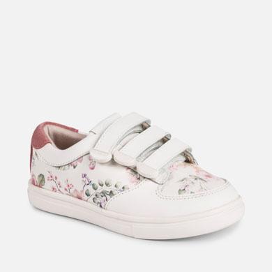 Sapatilhas estampadas menina Branco - Mayoral 97fddf622bda5