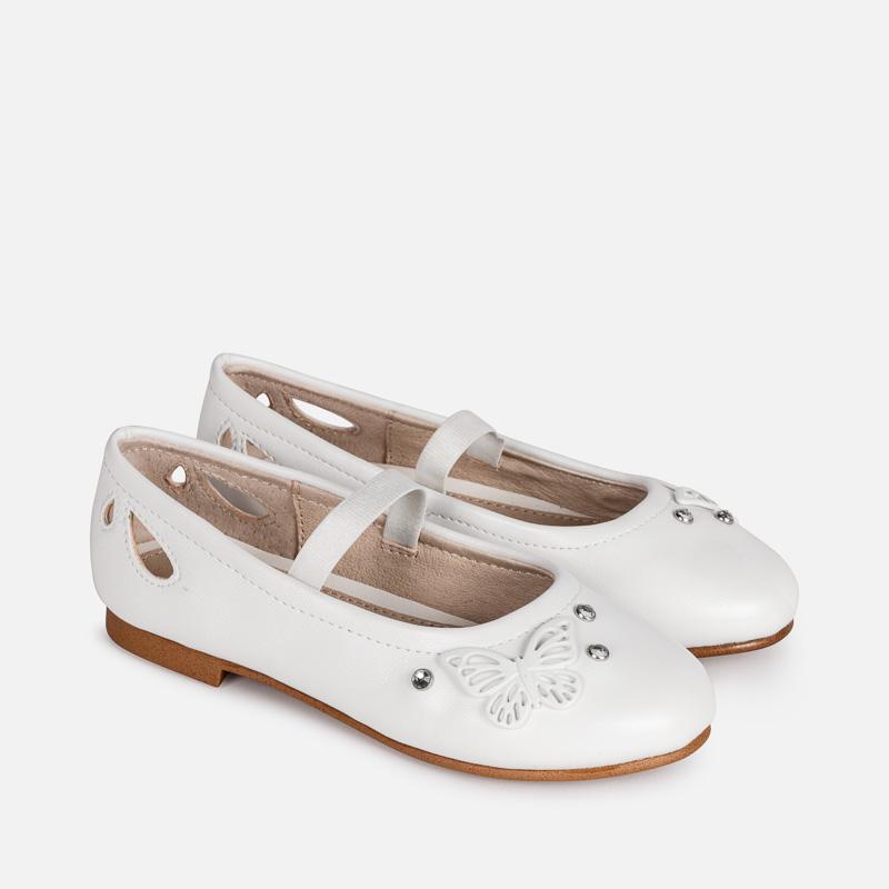 6d627811510 Μπαλαρίνες πεταλούδες Λευκό - Mayoral