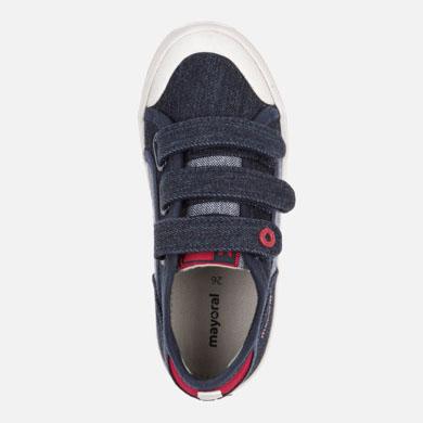 eea16106 27,99 € 23,79 €(-15%). 1 2 3 4. Zapatillas lona con velcros niño ...