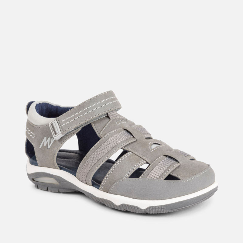 eba404569d8e5 Sporty sandals for boy Gris - Mayoral