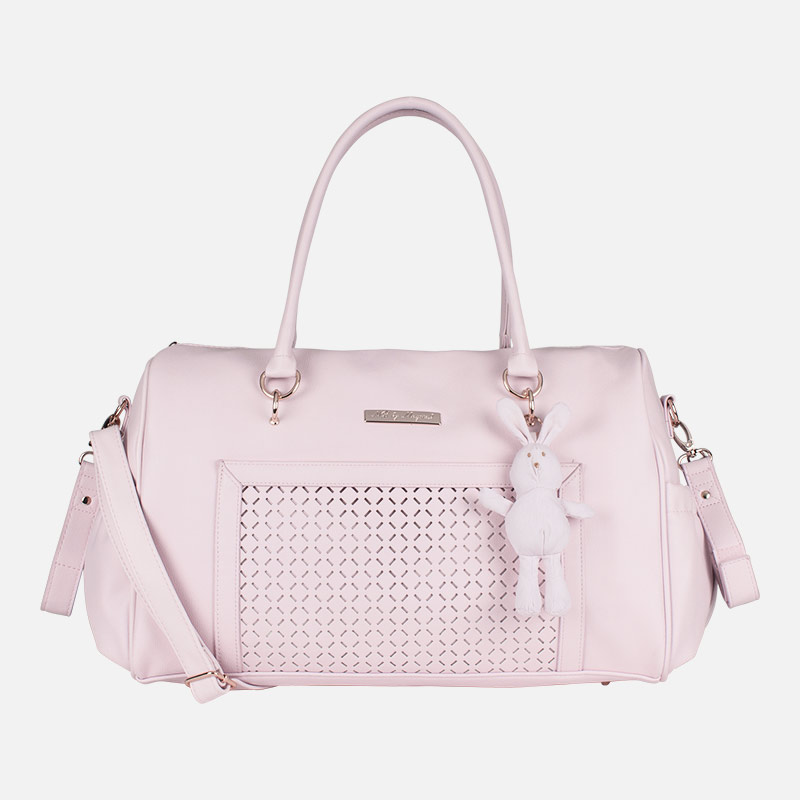 9e958299caa1 Changing bag with keyring Baby Pink - Mayoral