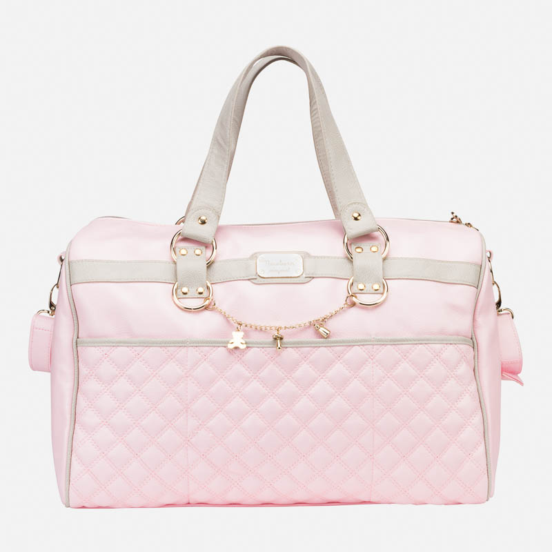 230d0a47a7b4 Padded changing bag with chain Baby Pink - Mayoral