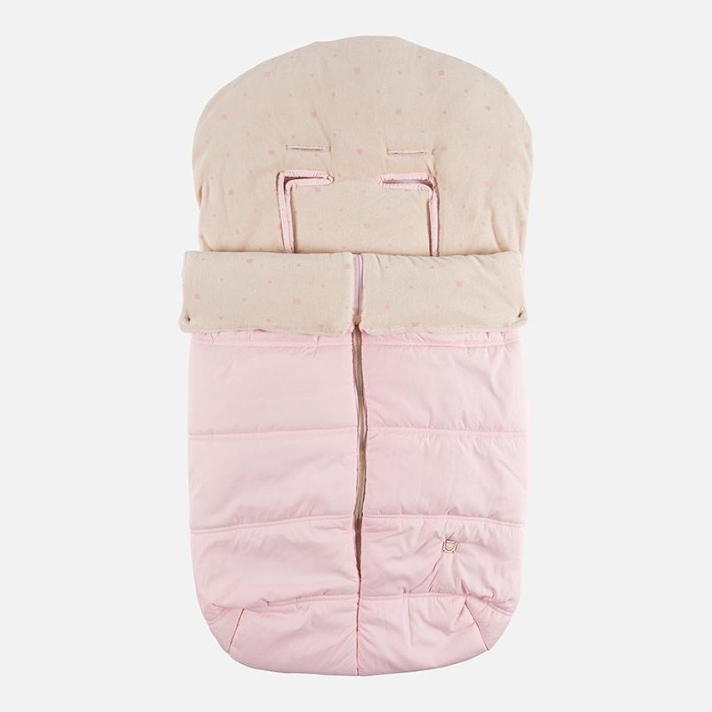 Saco para silla de bebé en microfibra Rosa Baby - Mayoral