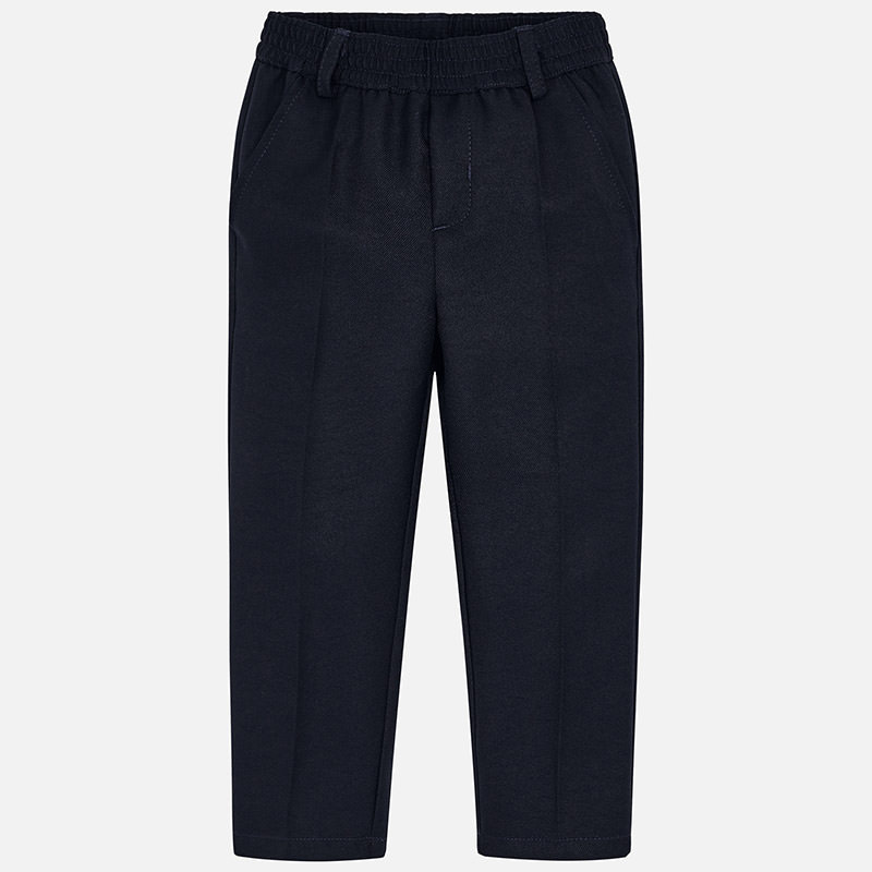 School Trousers For Boy Navy Blue Mayoral