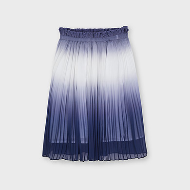 Skirt Maia ecru meadow/&navy blue