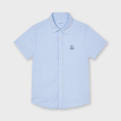 GULLIVER Hemd Jungen Hemden Junge Kinder Jungen Beige Camel Leinen Kurzarm 9-15 Jahre