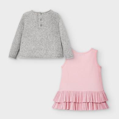 Kleid Bärchen Baby Mädchen Grau vigoré | Mayoral