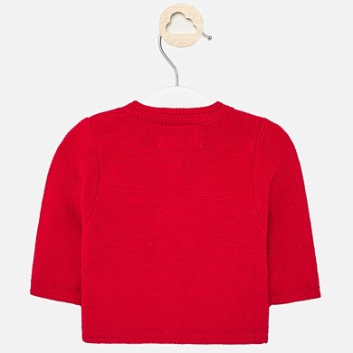 Mayoral Basic Red Cardigan