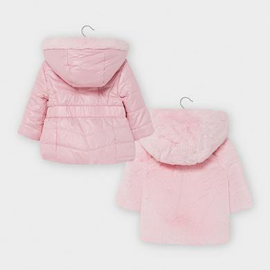 Reversible Faux Fur Coat For Baby Girl, Fur Coat For Baby Girl