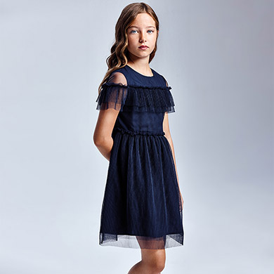 Robe tulle fille