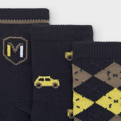 Mayoral ♥ 3er-Set Baby Socken grün