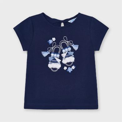 Mayoral 7065 T-shirt /à manches longues pour fille