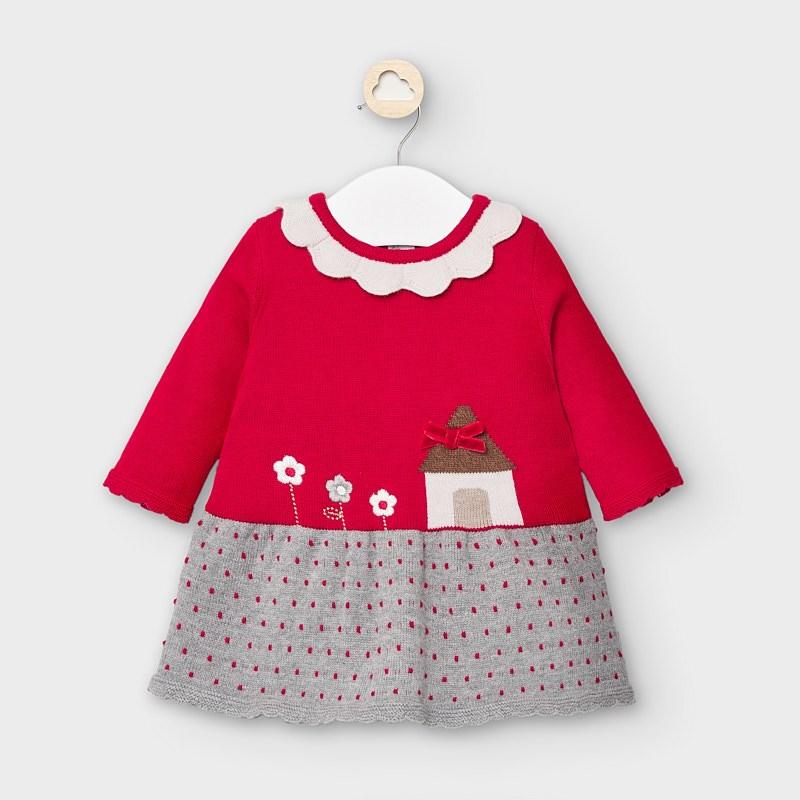 Sukienka dla noworodka dziewczynki Velvet