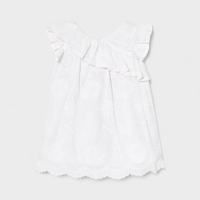 Mayoral Vestido Tricot Flores Bebe Ni/ña 12-36 Meses